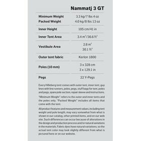 Hilleberg Nammatj 3 GT Grön